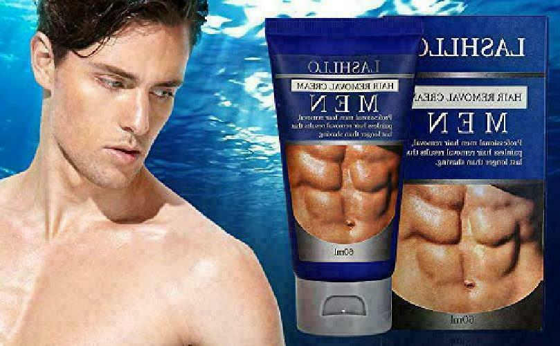 Painless Pubic Hair Removal Cream For Men Natural