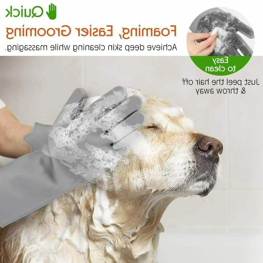Pet Multipurpose Silicone Hair Removal