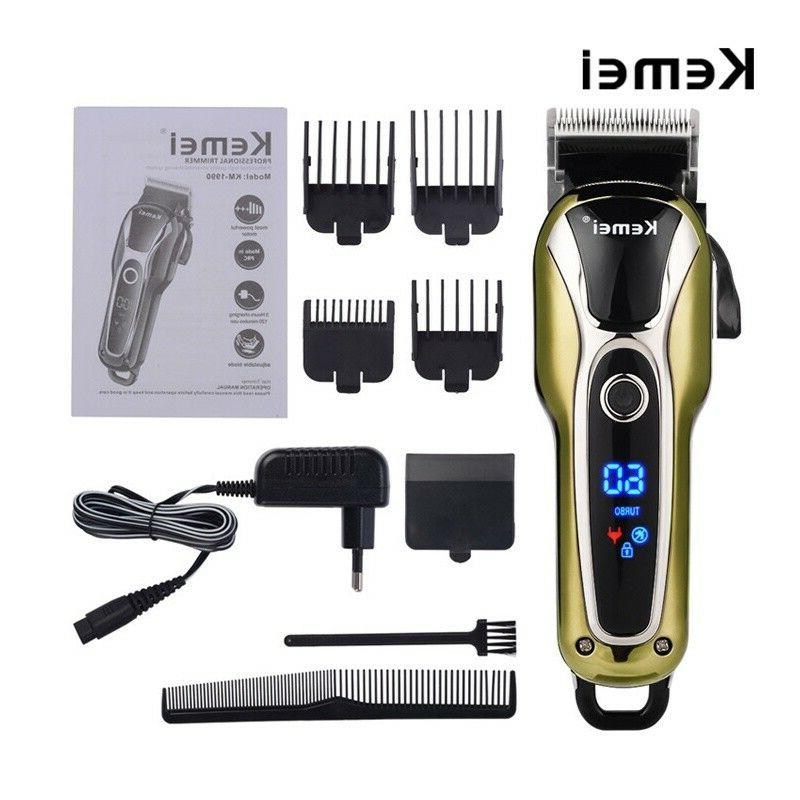 Rechargeable Shaver Electric Razor Hair Trimmer
