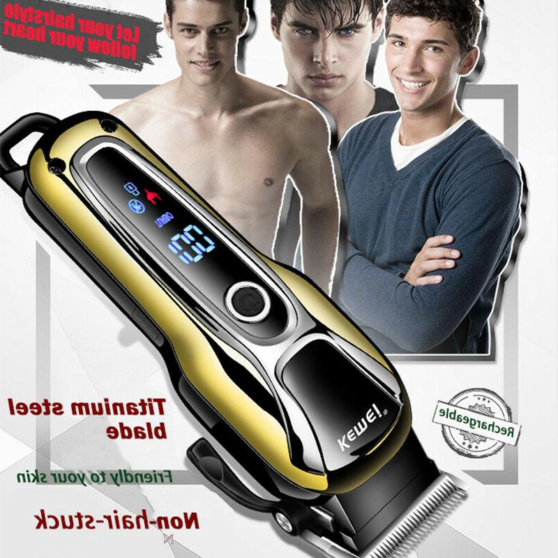 rechargeable hair clipper men s shaver electric