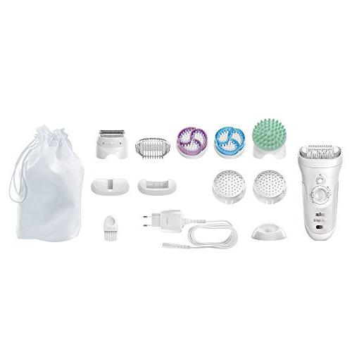 Braun Silk-épil 9-961V Women's Hair Removal, 2 Brushes System