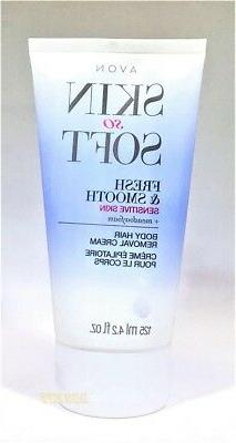 AVON SSS Body HAIR REMOVAL CREAM Fresh & Smooth Sensitive Sk