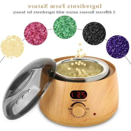 USA Spa Hair Removal Hot Wood Warmer Pot Machine