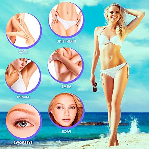 Wax Warmer Pro Hair Removal Hot Flavor Hard Wax Machine Painless Electric Women Men for Body Face Legs