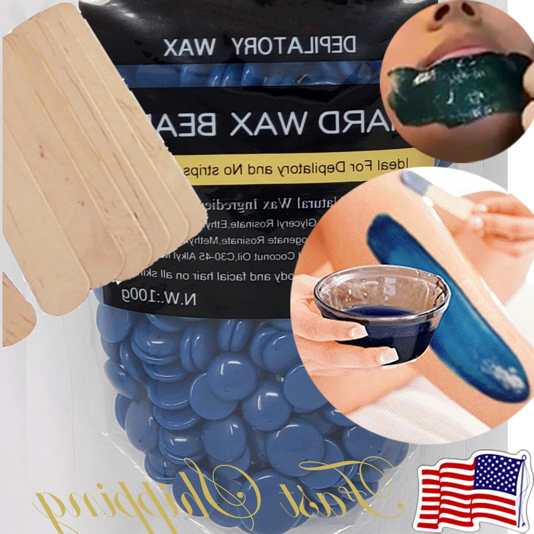waxing hair removal wax beads