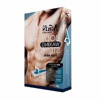 Nad's For Men Body Waxing Strips for Men, 20 ea - 2pc