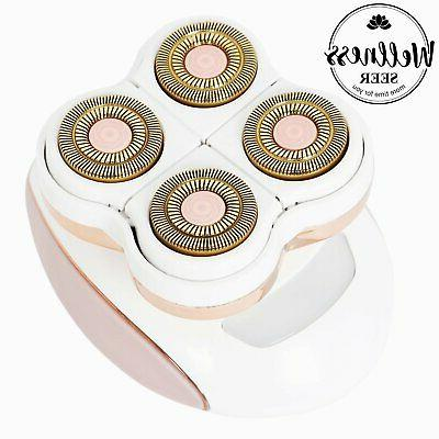 Women Legs Hair Rechargeable Painless Smooth Unisex Device