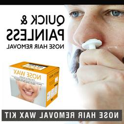 men s nose hair removal wax beads