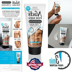Nads For Men Body Hair Removal CREAM 6.8 oz PAINLESS Remove