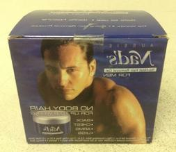 NEW Aussie Nad's No-Heat Hair Removal Gel For Men Kit, Last