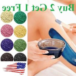 No Strip Depilatory Hot Film Hard Wax Beads pro Wax warmer H