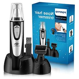 Nose Hair Trimmer for Men Women, POPPYO 2018 Professional No