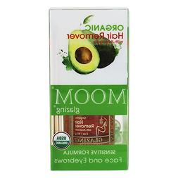 Moom Organic Hair Remover Kit With Avocado Face and Eyebrows