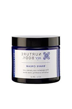 Natural Shave Cream by Nurture My Body | Certified Organic,