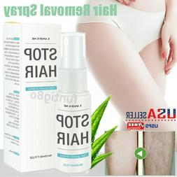 Painless Hair Removal Spray Permanent Depilatory Soft Skin H