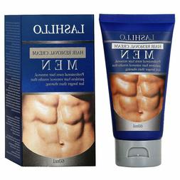 PAINLESS pubic hair removal cream for men Natural bikini are