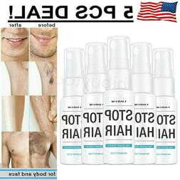 Permanent Hair Removal Spray Powerful Hair Growth Inhibitor