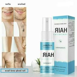 Permanent Hair Removal Spray Stop Hair Growth Inhibitor For