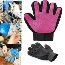 Pet Hair Removal Glove AS SEEN ON TV Massage Deshedding Groo
