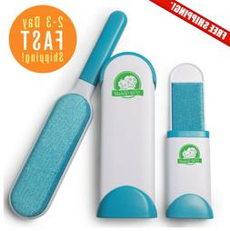 Pet Hair Remover Brush Fur & Lint Cleaner with Self-Cleaning