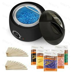 Wax Heater Warmer Hair Removal Depilatory Home Waxing Kit Be