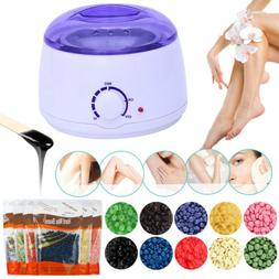 Salon Spa Hair Removal Hot Wax Warmer Heater Pot Machine Kit