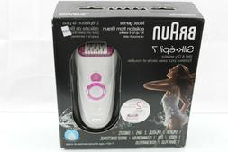 Braun Silk-épil 7 7-521 Women's Epilator, Electric Hair Rem