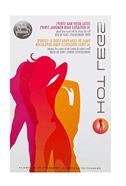 Hot Legs Total Body Wax Strips - 16 Versatile Hair Removal S