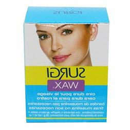 surgi wax complete hair removal kit for face 1oz. no muslin