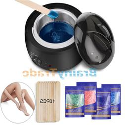 wax heater warmer hair removal kit electric