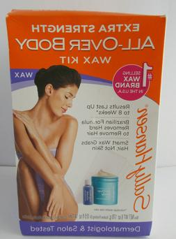 Sally Hansen Wax Kit All Over Body Extra Strength Hair Remov