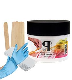 Sugaring Wax Paste with Strips, Applicator and Gloves Hair R