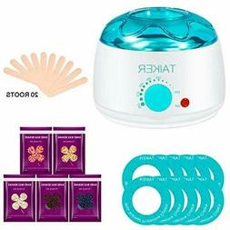 Wax Warmer Hair Removal Kit For Women Waxing Electric Pot He
