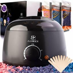 Wax Warmer Kit for Hair Removal - Wax Melting Pot for Brazil