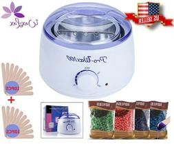 Wax Warmer, Portable Electric Hair Removal Kit for Facial &