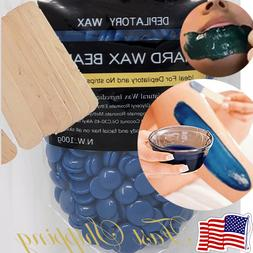 Hot Waxing Hair Removal Wax Beads Lavender Flavor Hard Beans