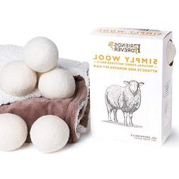 Friends Forever Wool Dryer Balls 6-Pack XL Size - Premium Re